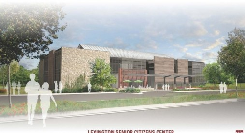 Lexington Senior Citizen's Center Rendering